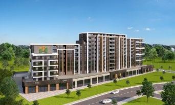 3D Render Plovdiv City Park 2